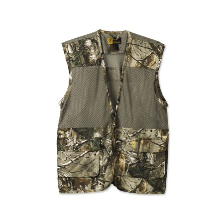 Browning 305103240 Men's Upland Dove Hunting Vest Realtree Xtra