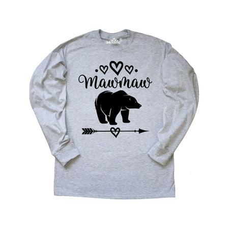 Mawmaw Bear Grandma Gift Long Sleeve