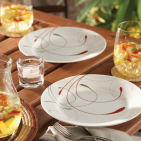 Oneida Naturally White 16pc Dinnerware Set - Walmart.com