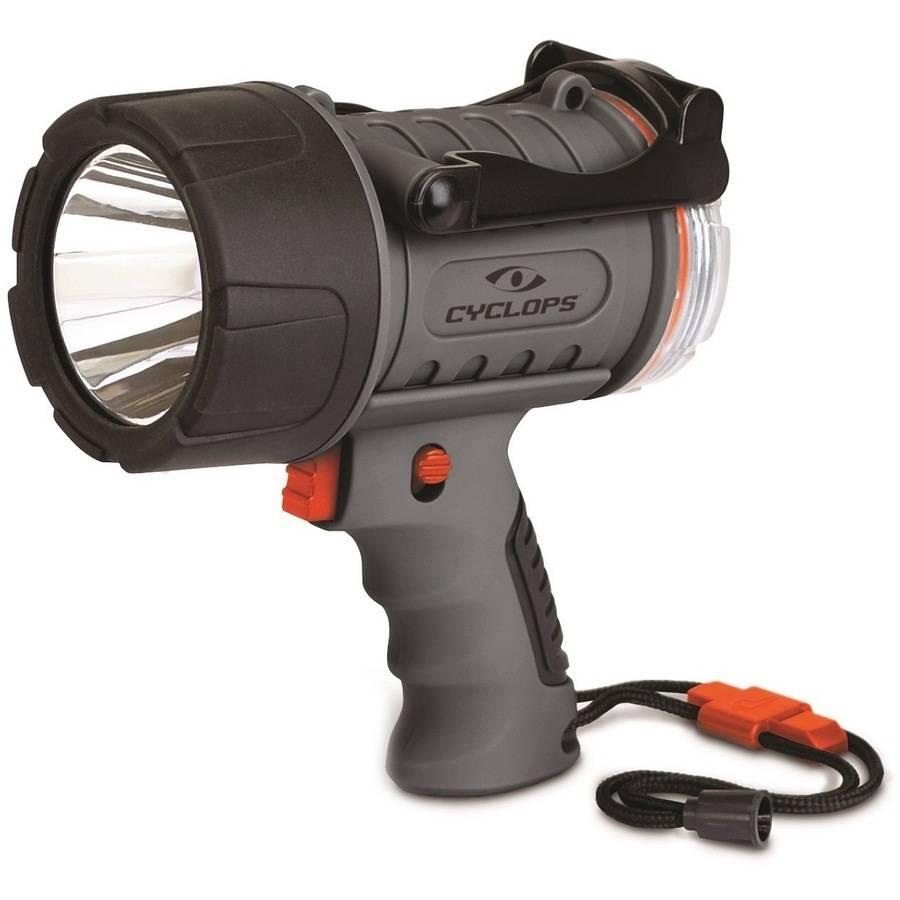 Cyclops 300 Lumen Rechargeable Water Proof Spotlight, Grey by Cyclops