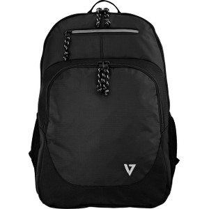 "V7 Vantage CBV16-BLK-2N Backpack for 15.6"" Laptop - Black"