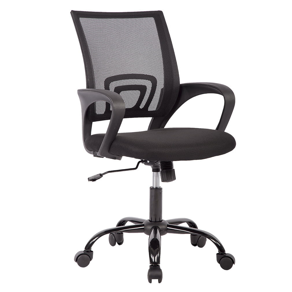 Mid Back Mesh Ergonomic Computer Desk Office Chair Black Walmartcom