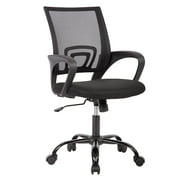 Mid Back Mesh Ergonomic Computer Desk Office Chair, Black