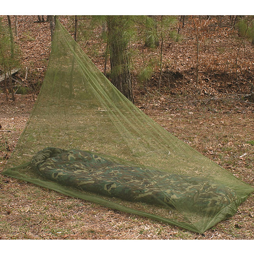 Snugpak Bugproof Backpacker Mosquito Net, Olive Green