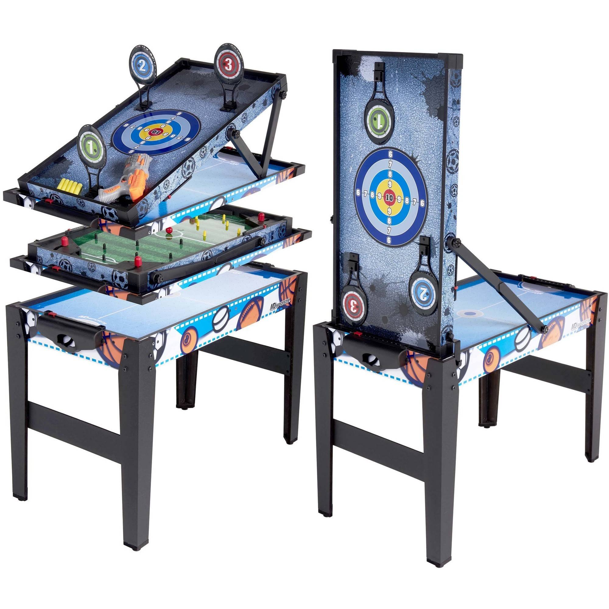 """MD Sports 36"""" 4-In-1 Multi-Game Combo Table"""