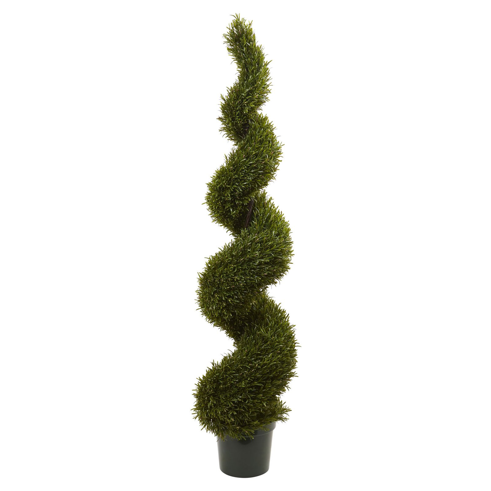 Nearly Natural 6 ft. Rosemary Spiral Topiary