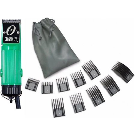 New Oster Classic 76 Green Color +10 PC Comb Set