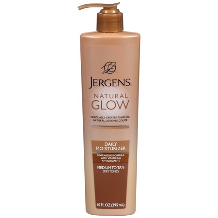 Jergens Natural Glow Medium to Tan Skin Tones Daily Moisturizer 10 fl. oz.