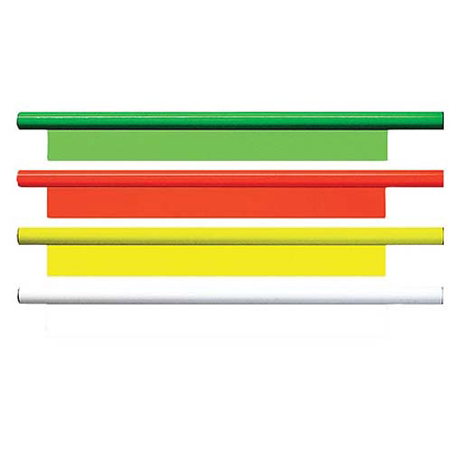 "Bohning Archery Arrowraps, 4"", Neon Green, 12pk"