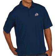 "Colorado Avalanche Antiqua NHL ""Pique"" Performance Polo Shirt - Navy"