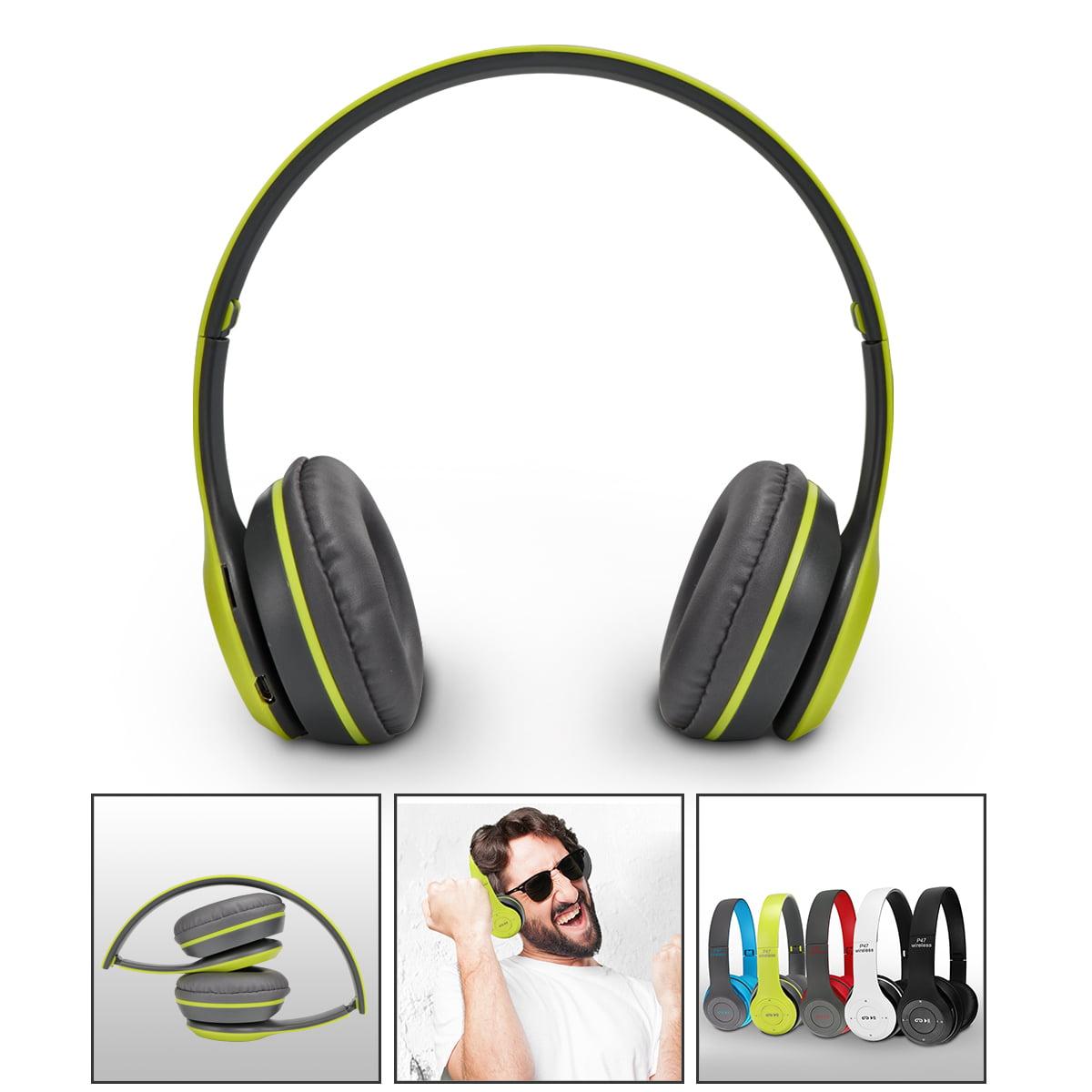 LemonBest Wireless Bluetooth Over Ear Headphone Foldable ...