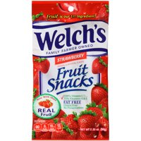 Welch's. Strawberry Fruit Snacks 2.25 oz. (48 Count)