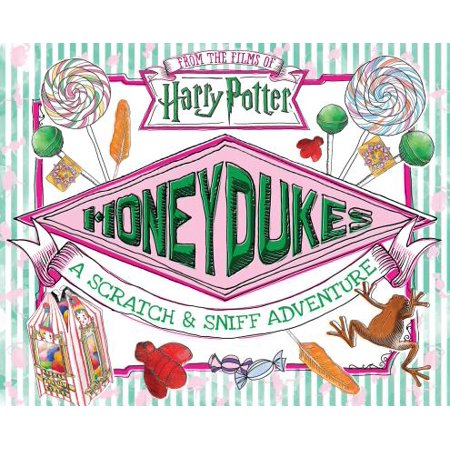 Honeydukes: A Scratch & Sniff Adventure - Scratch And Sniff Stickers