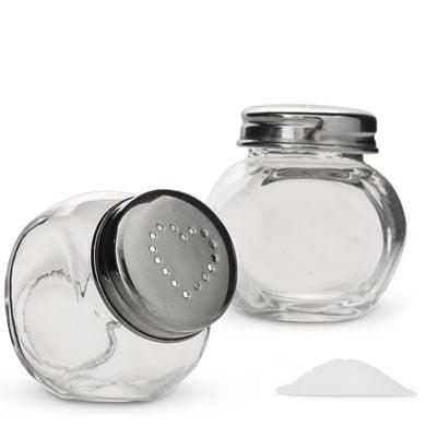Mini Candy Jar Salt and Pepper Shaker Favor set