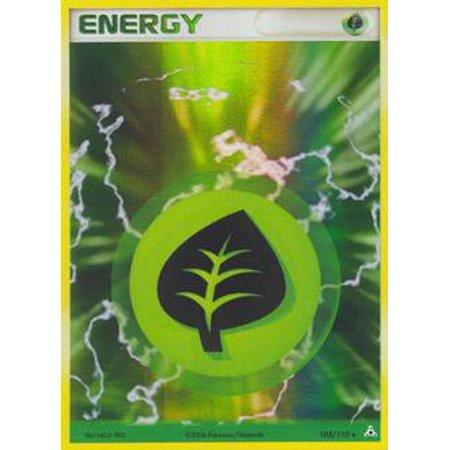 Pokemon Holon Phantoms Grass Energy #105