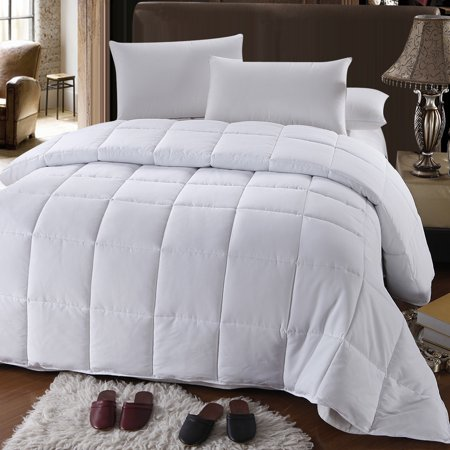 White Down Alternative Comforter All Season Medium Fill