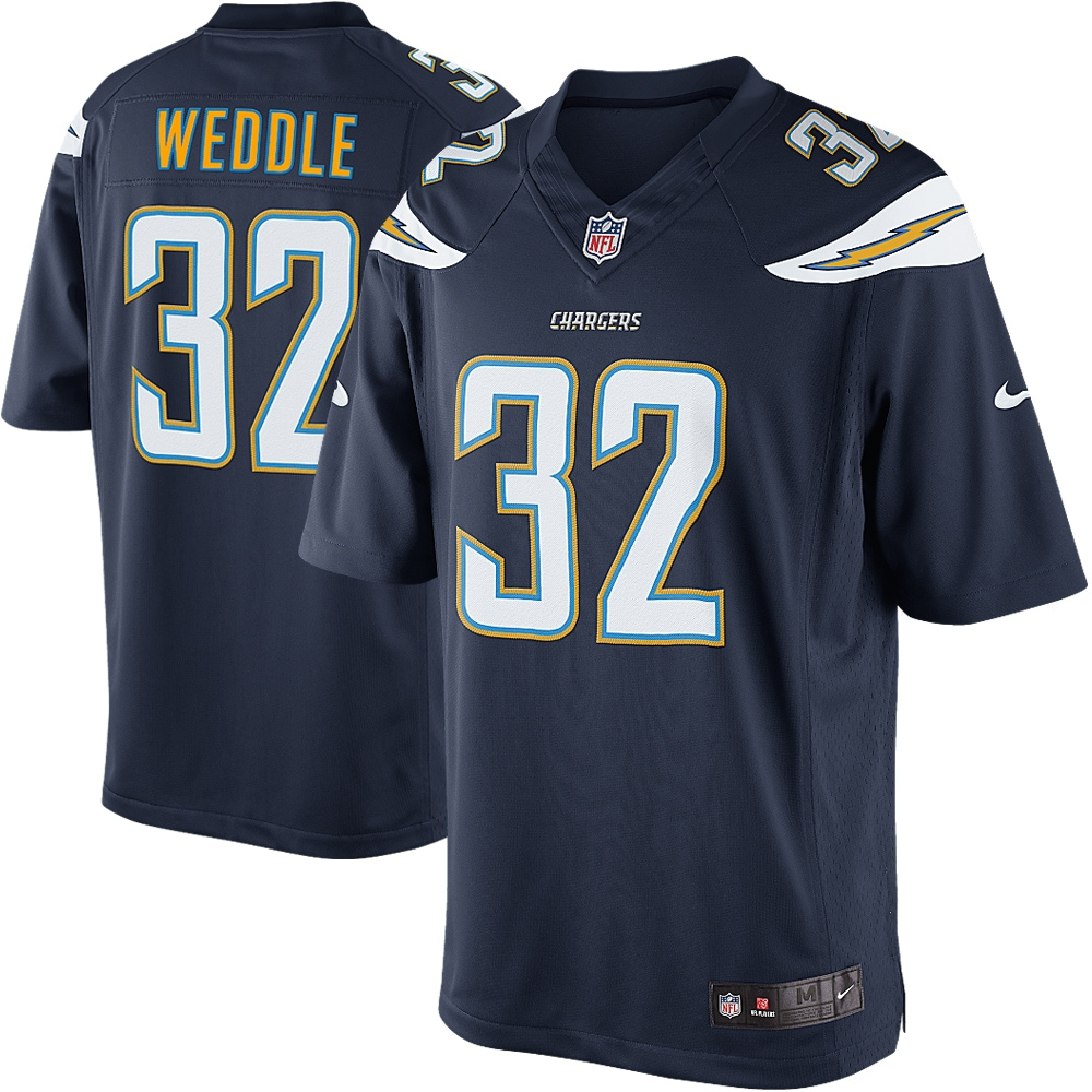 Eric Weddle San Diego Chargers Nike Team Color Limited Jersey - Navy Blue - Walmart.com