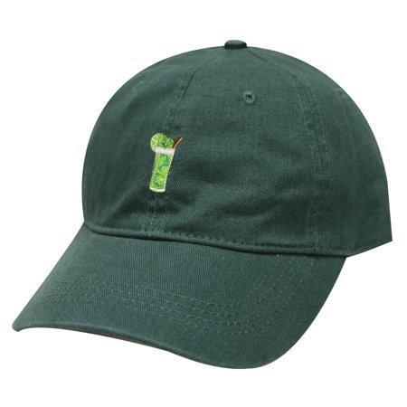 City Hunter C104 Mojito Cotton Baseball Dad Cap 19 Colors (Hunter Green)