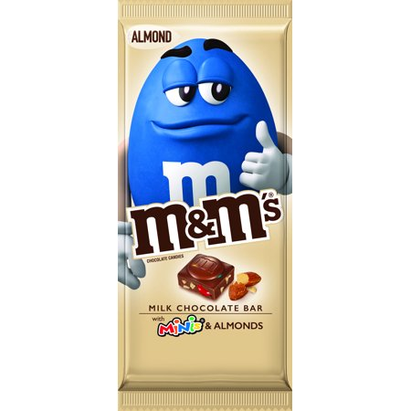 M&MS Almond & Minis Milk Chocolate Candy Bar - 3.9oz