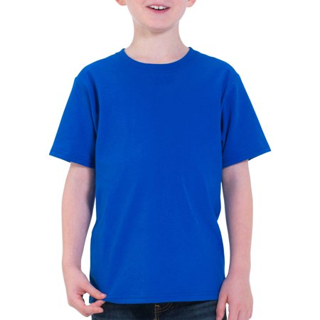 Fruit of the loom boys short sleeve crew neck t shirt for Boys short sleeve t shirts