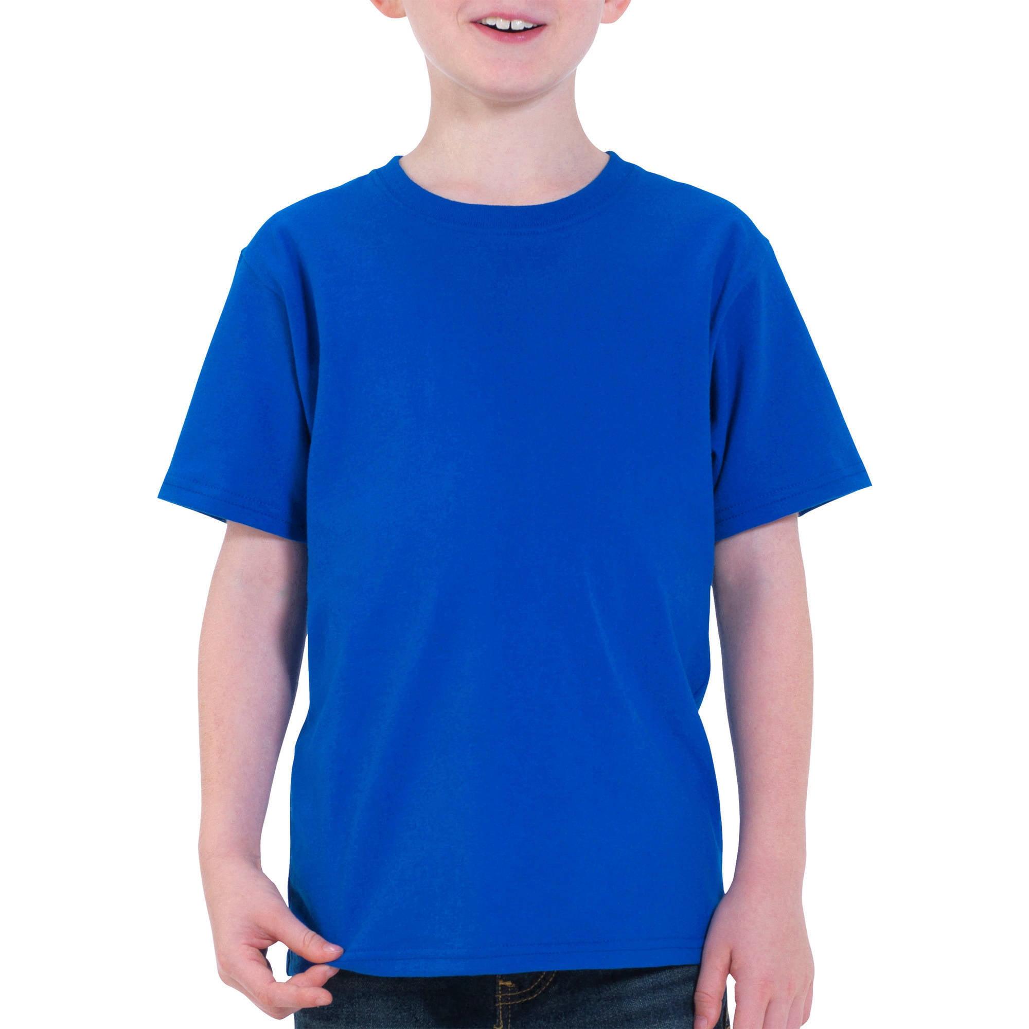 Fruit of the Loom Boys' Short Sleeve Crew Neck T Shirt