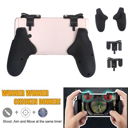 Sensitive Shoot and Aim Keys Shooter Controller Mobile Gaming Trigger for PUBG Games - image 3 of 6