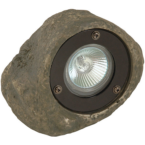 Moonrays Low Voltage Rock Spotlight Path Light, 20-Watt