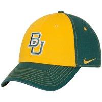 Baylor Bears Nike Women's Logo Adjustable Hat - Gold/Green - OSFA