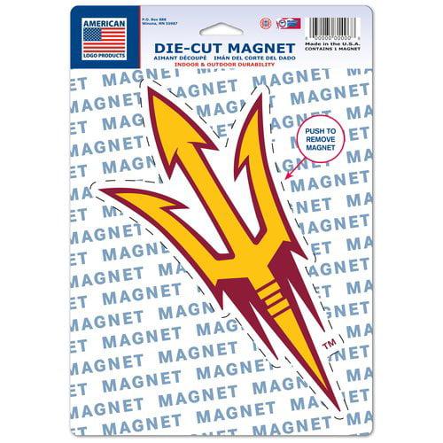 American Logo Products Arizona State Sun Devils Logo Magnet