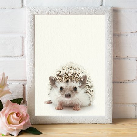 Baby Woodland Hedgehog - Nursery Wall Décor Farm Baby Animal Art Print