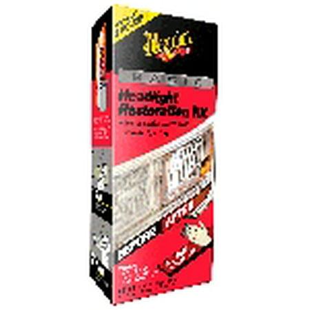 Restoration Kit (Meguiar's Basic Headlight Restoration Kit – Plastic Cleaner & Polish Kit Restores Headlights – G2960)