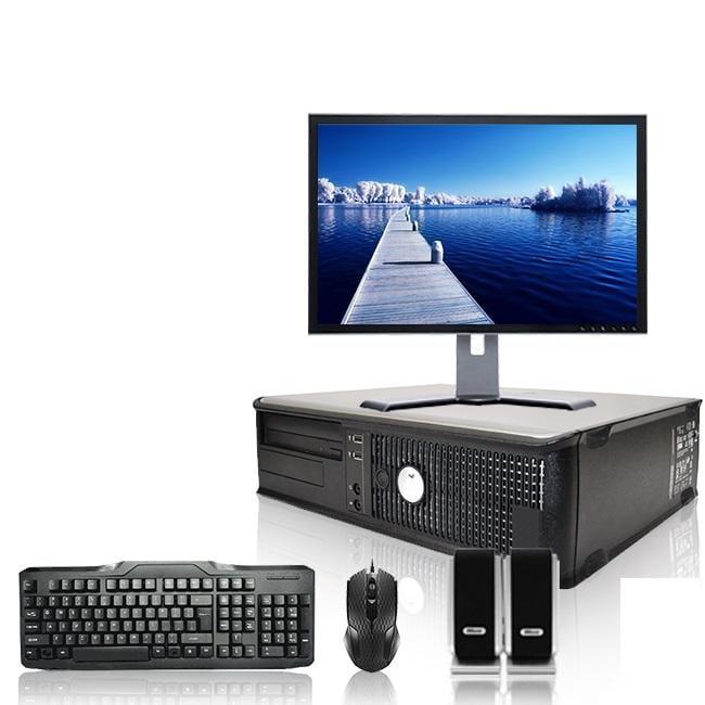 Dell Optiplex Desktop Computer 2.6 GHz Pentium D Tower PC, 4GB RAM, 80 GB HDD, Windows 7