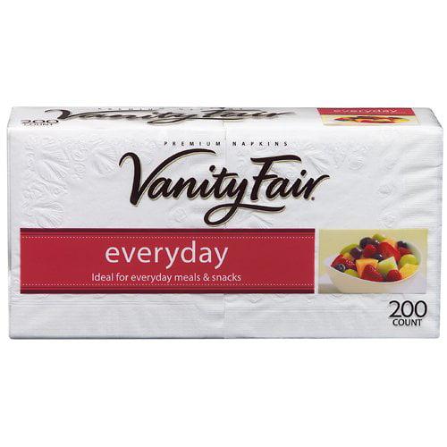 Vanity Fair Everyday Napkins, 200ct