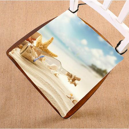 Gckg Starfish Chair Cushion Sky Cloud Beach Starfish Shell
