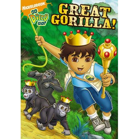 Go Diego Go: Great Gorilla (DVD) (Go Diego Go Halloween Movie)