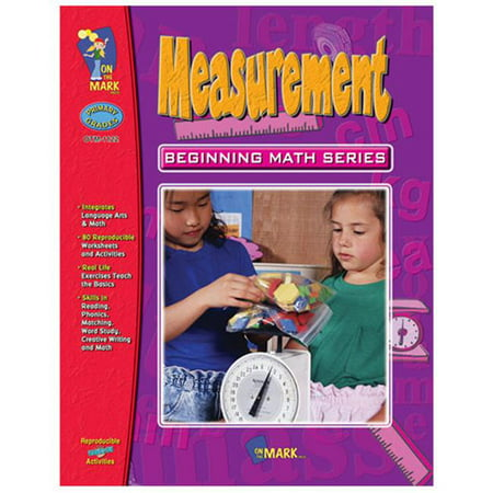 On The Mark Press OTM1122 Measurement Beginning Math Series Gr. 1-3