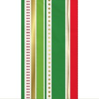 Foil Gold Chic Christmas Tree Paper Guest Napkins, 30ct