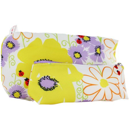 Clinique Macy's Spring 2 pc Cosmetic Bag Set