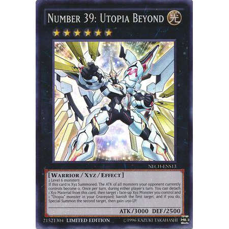 YuGiOh The New Challengers Number 39: Utopia Beyond