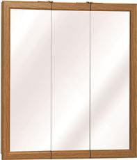 Click here to buy American Pride K Series Triview Medicine Cabinet, Classic Oak, 24 In. by AMERICAN PRIDE.