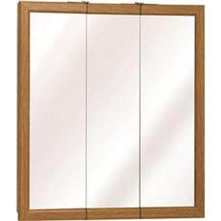 American Pride K Series Triview Medicine Cabinet, Classic Oak, 24 (Classic Medicine Cabinet)