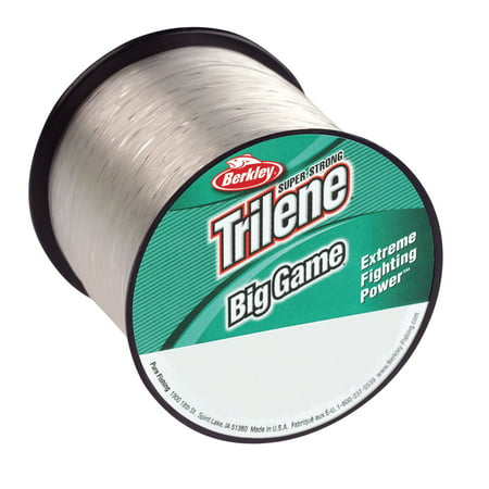 - Berkley Trilene Big Game Monofilament Fishing Line Spool