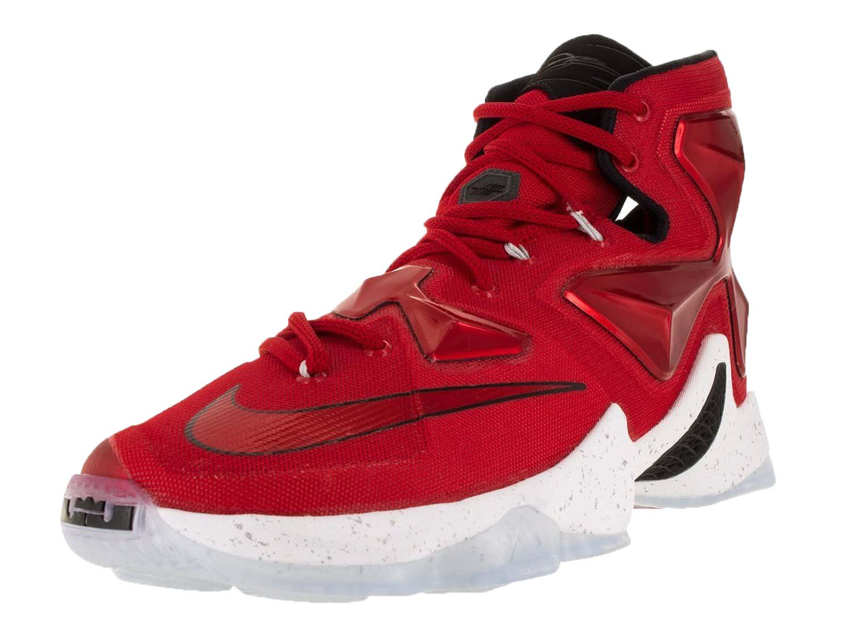 d42a92e542 Nike Mens Lebron XIII Basketball Shoe Red - Walmart.com