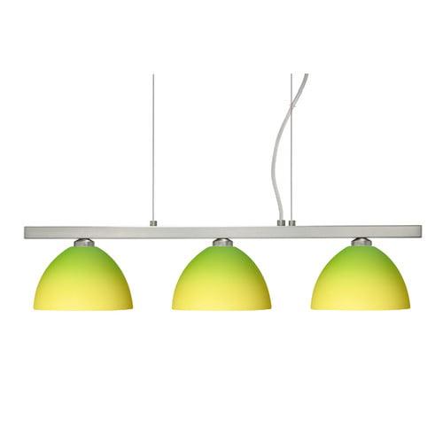 Besa Lighting Brella 3 Light Linear Pendant