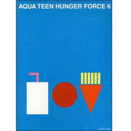 Aqua Teen Hunger Force, Vol. 6 (Full Frame) by WARNER HOME ENTERTAINMENT