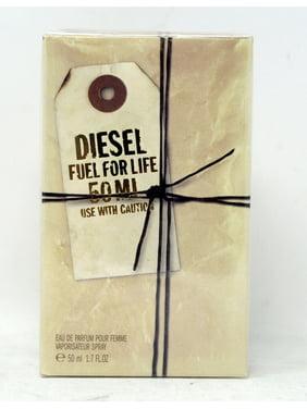 Designer Fragrances Diesel Fuel for Life Eau De Parfum Pour Femme, 1.7 oz