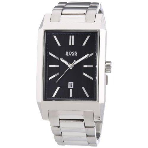 Hugo Boss Architecture Rectangular 1512917 Mens Wristwatch Classic & Simple