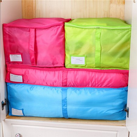 High Densisty Fabric Clothes Storing Storage Bags,Folding Organizer Bag for Quilt ,pillow,Blanket,Clothes Storage,Washable and Eco-friendly](Girls Clothes Store)