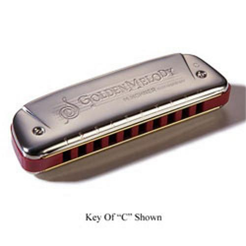 Hohner 542 20 Golden Melody Harmonica (Ab) by Hohner