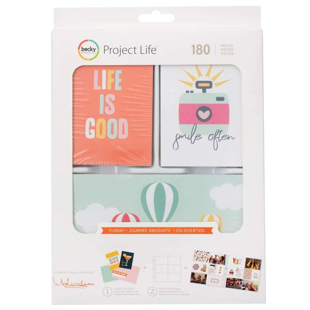 - Funday Value Kit, SCRAPBOOKING ESSENTIAL - Perfectly made for use with different types and pieces of artwork: scrapbooking, journal decorations, memorabilia,.., By Project Life